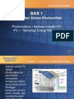 Solar Cell ( Photovoltaic )