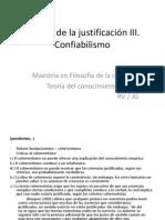 Teorias de La Justificacion (Tercera Clase)