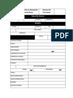 Formulario Básico Para La Descripción Macroscópica De Rocas