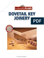 Dovetail Key Joinery
