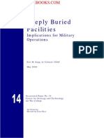 2000 US Army Deeply Buried Facilities Implications for Military Operation 48p
