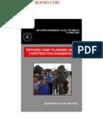2000 Us Air Force Refugee Camp Planning & Construction Handbook 135p