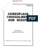 1999 US Army Camouflage, Concealment, And Decoys 99p