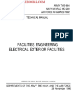 1996 Us Army Facilities Engineering Electrical Exterior Facilities 201p