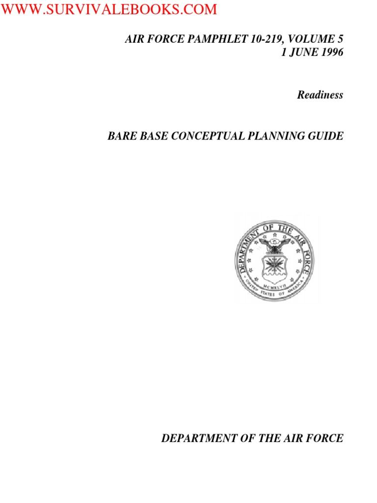 1996 Us Air Force Bare Base Conceptual Planning Guide 351p United Broadcastband Rf Amplifier Circuit Diagram Tradeoficcom States Hvac