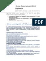 04 Fundamentos Teoricos Dsm IV Resumen