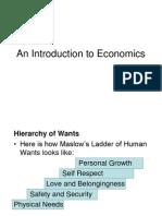 Intro to Economics 2013