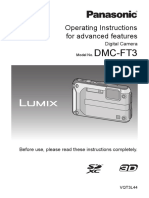 Panasonic Lumix DMC-FT3 Manuals