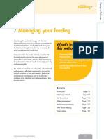 7 Managing Your Feeding