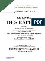 Le Livre Des Esprits Diablus.com