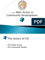 SS2_The Main Actors in Community Development