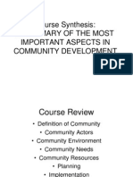 Ss12_community Development Summary of Imp Aspects