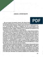 Barthes Roland Amar a Schumann