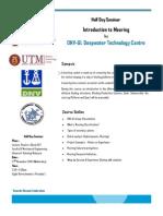 Half Day Seminar brochure from DNV
