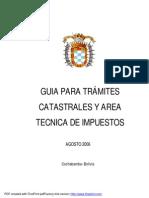 GUIA PARA EL MANEJO DE CATASTRO Y AREA TECNICA DE IMPUESTOS.pdf