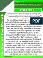 Vom Faith December 2013