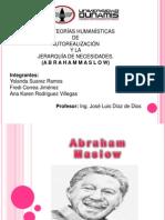 Exposicion de Abraham Maslow