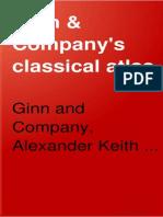 Ginn Company s Classical Atlas