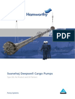Deepwell Pump for Chemical Tankers