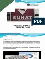 PRESENTACIÓN - CURSO PDT INTEGRAL - T REGISTRO PLAME (S1 y S2)