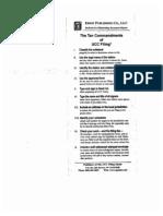 10 Commandments of UCC Filing