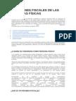 REGÍMENES FISCALES DE LAS PERSONAS FÍSICAS