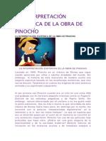 LA INTERPRETACIÓN ESOTÉRICA DE LA OBRA DE PINOCHO