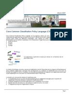 Ciscomag 9 Dossier c3pl