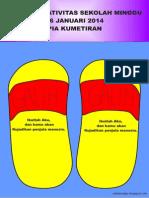 Bahan Kreativitas Sekolah Minggu 26 Januari 2014 PIA Kumetiran
