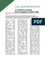 Laporan Protein-review Bradford