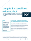 Ma Snapshot Accounting Contingent Consideration