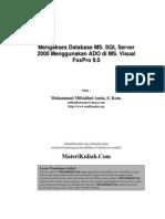 Miftakhul SQL ADO