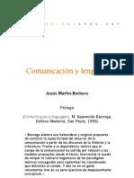 Comunicación y lenguaje (Prólogo)