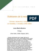 Habitantes de la memoria (Prólogo)