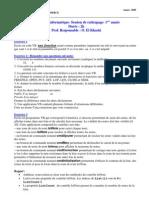 [s2] informatiques - examen 2005 (session de rattrapage)