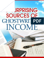 7 Surprising Sources of Ghostwriting Income