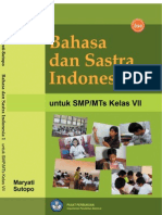 SMP Kelas 7 - Bahasa dan Sastra Indonesia
