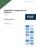 CFW-11 -  Manual de Aplicación Bobinadora Tangencial con Balancín R01 S 10000285182