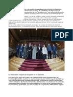 Declaración Conjunta Reunión Extraordinaria UNASUR, Bariloche 28 agosto 2009