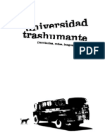 universidad trashumante
