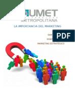 El Marketing y Su Importancia