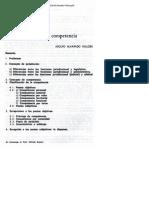 ALVARADO VELLOSO jurisdicción y competencia en ricdp 3 1985