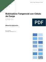 CFW-11 -  Manual de Aplicación del Bobinadora Tangencial con Célula de Carga R01 S 10000285153