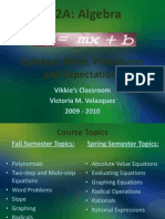 M2A Procedures and Expectations