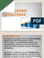 Materi Manajemen Strategi