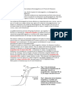 El Ciclo de Histeresis de Las Sustancia Ferromagnetica y La Teoria de Dominios