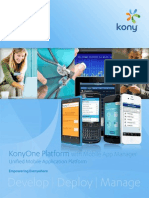 DS Kony Platform