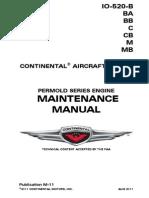 TCM IO520 MaintManual