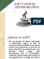 JLIST Y LISTA DE SELECCIÓN MULTIPLE
