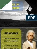 Essence of Leadership